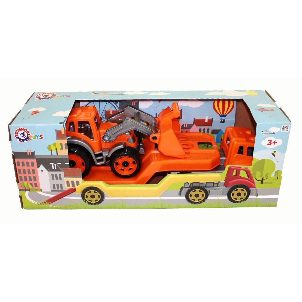 ТЕХНОК Автовоз с трактором в коробке