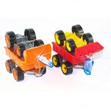 ТЕХНОК Трактор с ковшом и прицепом