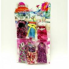 Одежда для кукол 6 шт на планшете