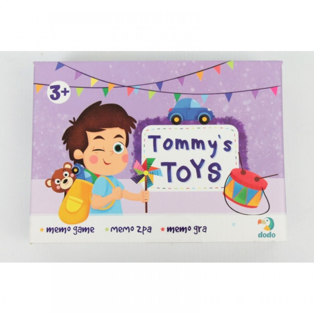 """Игра """"Мемо. Іграшки Томмі"""" DODO"""
