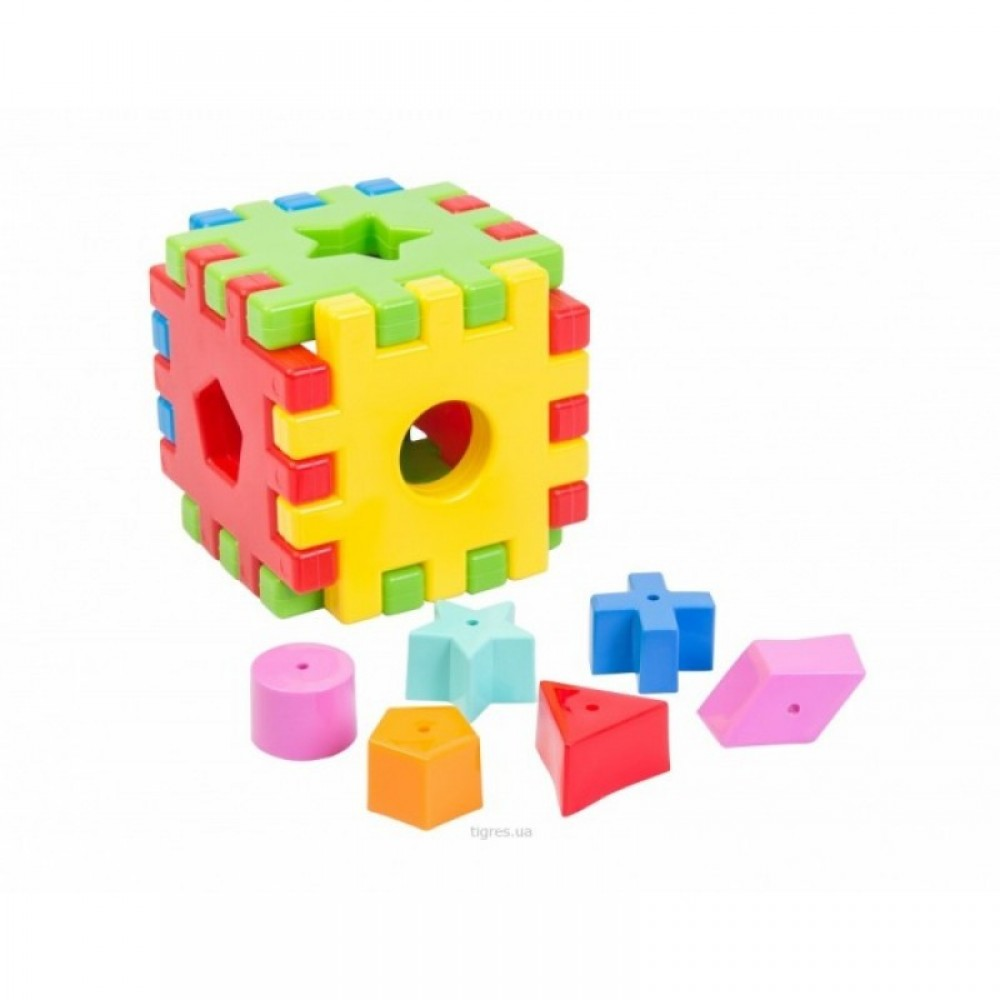 """Куб - пазл """"Чарiвний куб"""" WADER"""