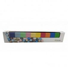 Деревянные кубики цветные 24 шт в коробке ВИННИ ПУХ