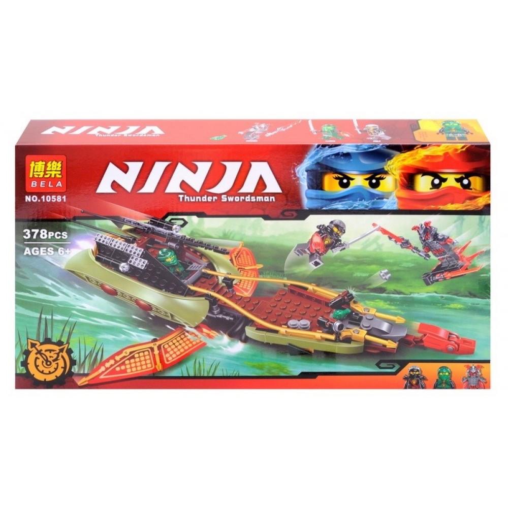 """Конструктор """"NINJA"""" в коробке BELA"""