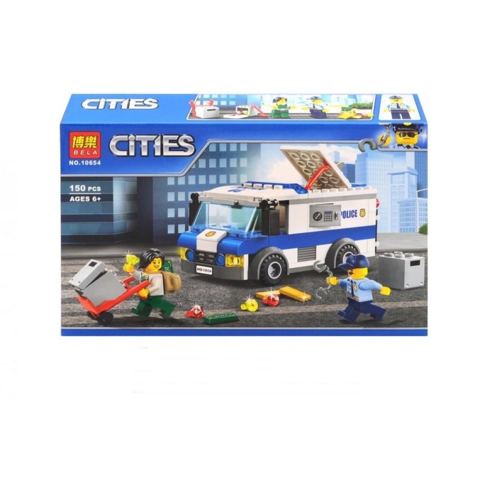 "Конструктор ""CITIES"" в коробке"