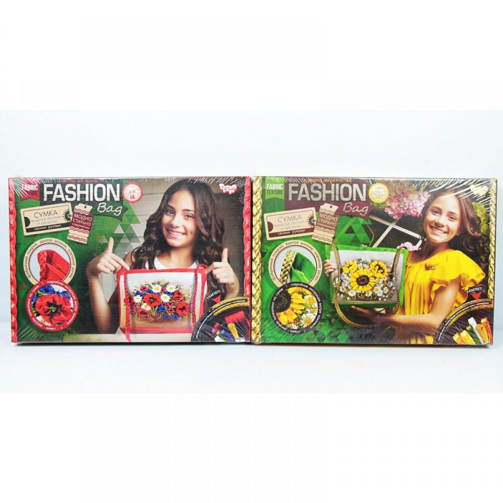 """Творчество """"Вышивка - сумка """"Fashion Bag"""" ДАНКО - ТОЙС"""