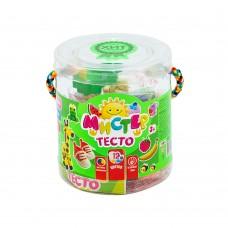Тесто для лепки 12 цветов банках STRATEG