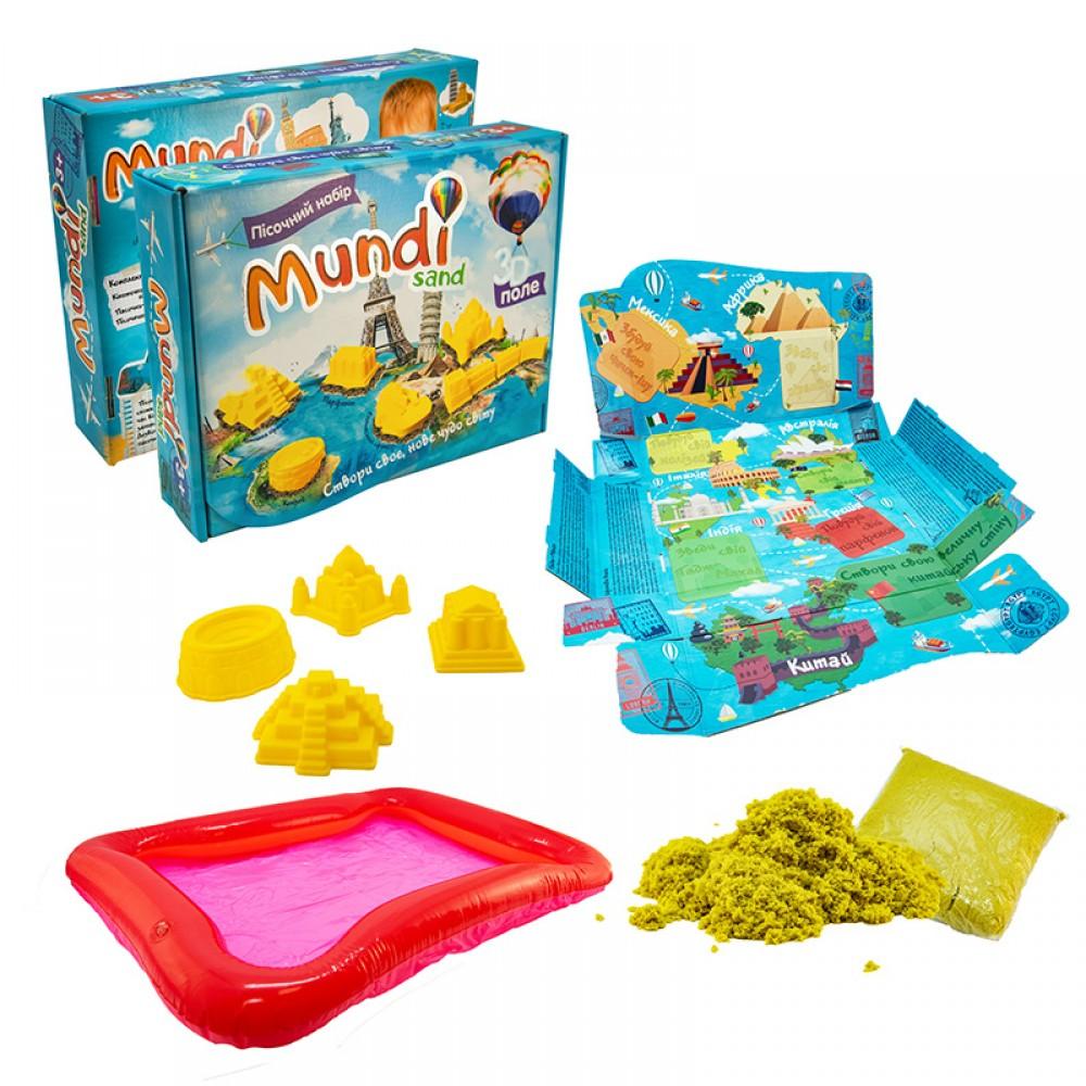 """Кинетический песок """"Mundi sand"""" в коробке STRATEG"""