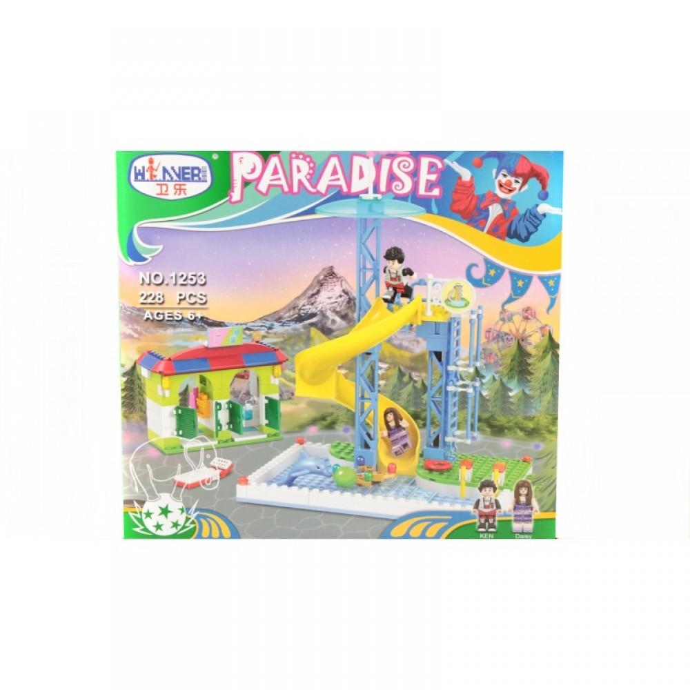 "SALE Конструктор ""Paradise"" 228 дет. в коробке WINNER"