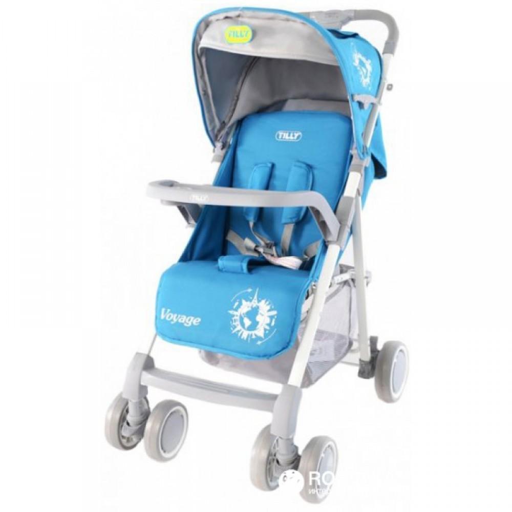 SALE Детская Коляска прогулочная TILLY Voyage синяя
