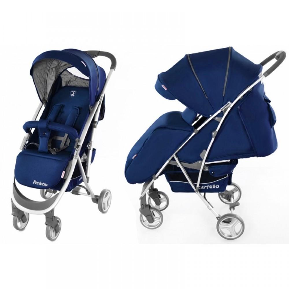 SALE Детская Коляска прогулочная CARRELO Perfetto синяя