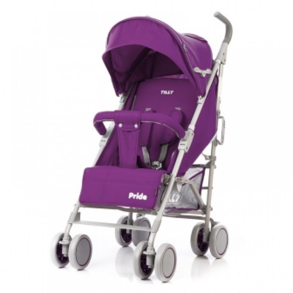 SALE Детская Коляска прогулочная TILLY Pride фиолетовая