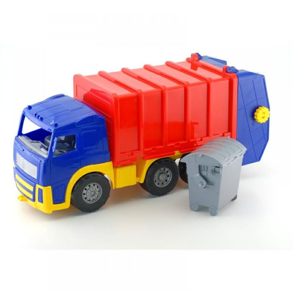 "SALE Машина ""Акрос"" мусоровоз COLORPLAST"