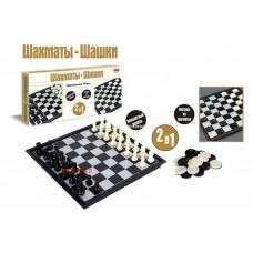 Шахматы 2 в 1 в коробке