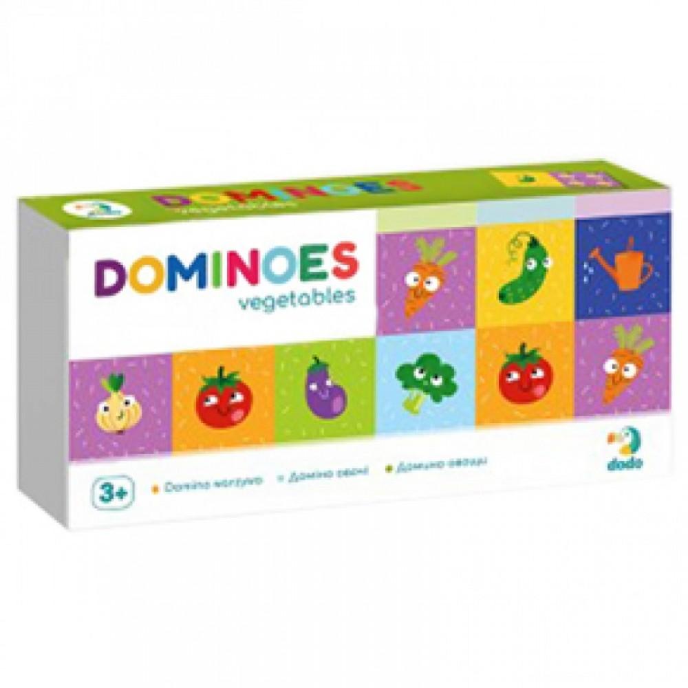 """Домино """"Овочі"""" DODO"""