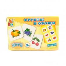 "Лото ""Овощи и фрукты"" BONI TOYS"