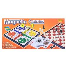 Шахматы 4 в1 Магнитные игры