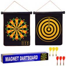 """Дартс магнитный 17"""" в коробке"""