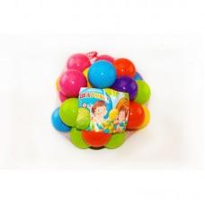 Шарики для сухого бассейна 30 шт. в сетке 60 мм. мягкие M- toys