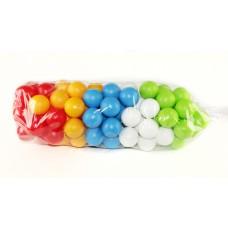 Шарики для сухого бассейна 100 шт. в пакете COLORPLAST