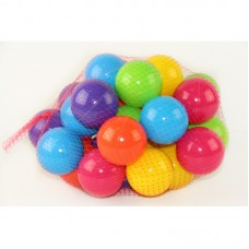 Шарики для сухого бассейна 30 шт. в сетке 70 мм. мягкие M- toys