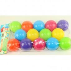 Шарики для сухого бассейна 14 шт. в пакете 60 мм. мягкие M- toys