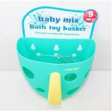 BABY MIX Чаша для игрушек в ванную