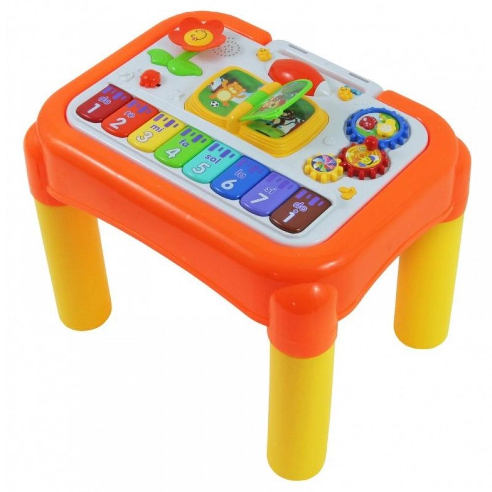 BABY MIX Муз. столик развивающий в коробке