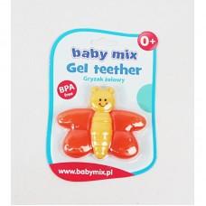 """BABY MIX Прорезыватель для зубов гелевый """"Пчёлка"""""""