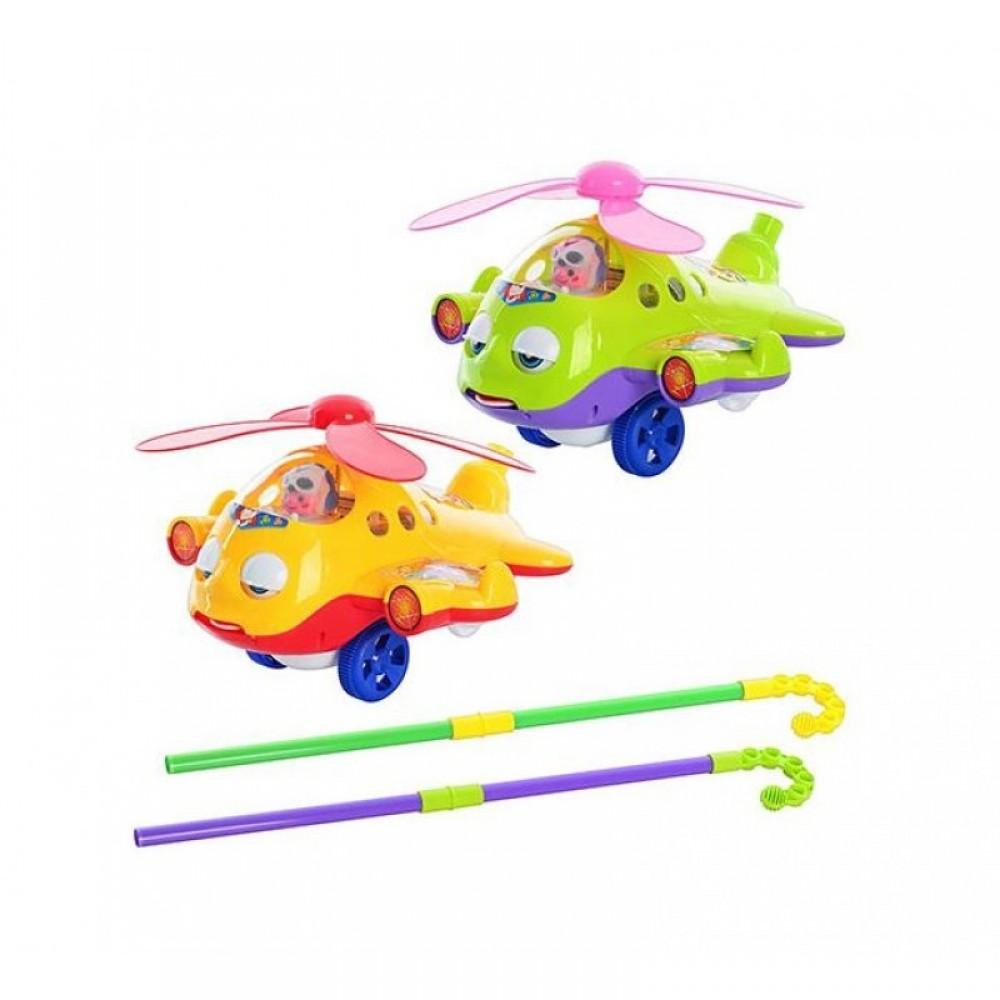 Каталка вертолёт на палке