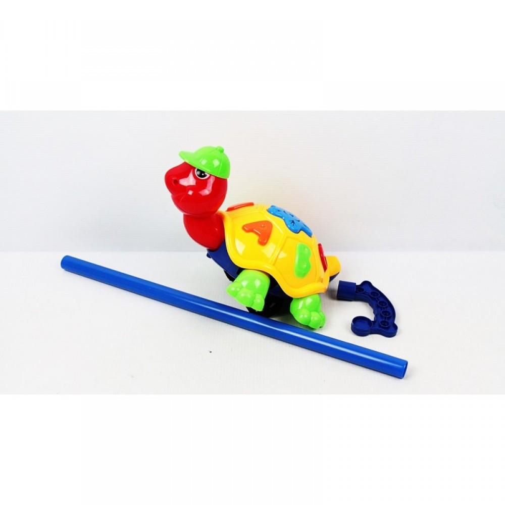 Каталка черепаха на палке