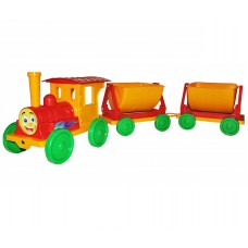 Поезд с 2 прицепами DOLONI