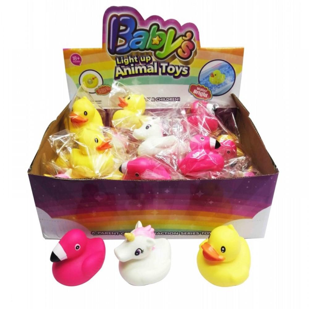 Животные водоплавающие 24 шт в коробке