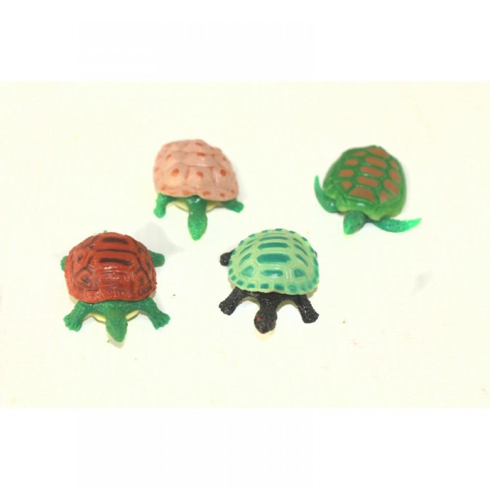 Животные черепаха резиновая 288 шт. в коробке