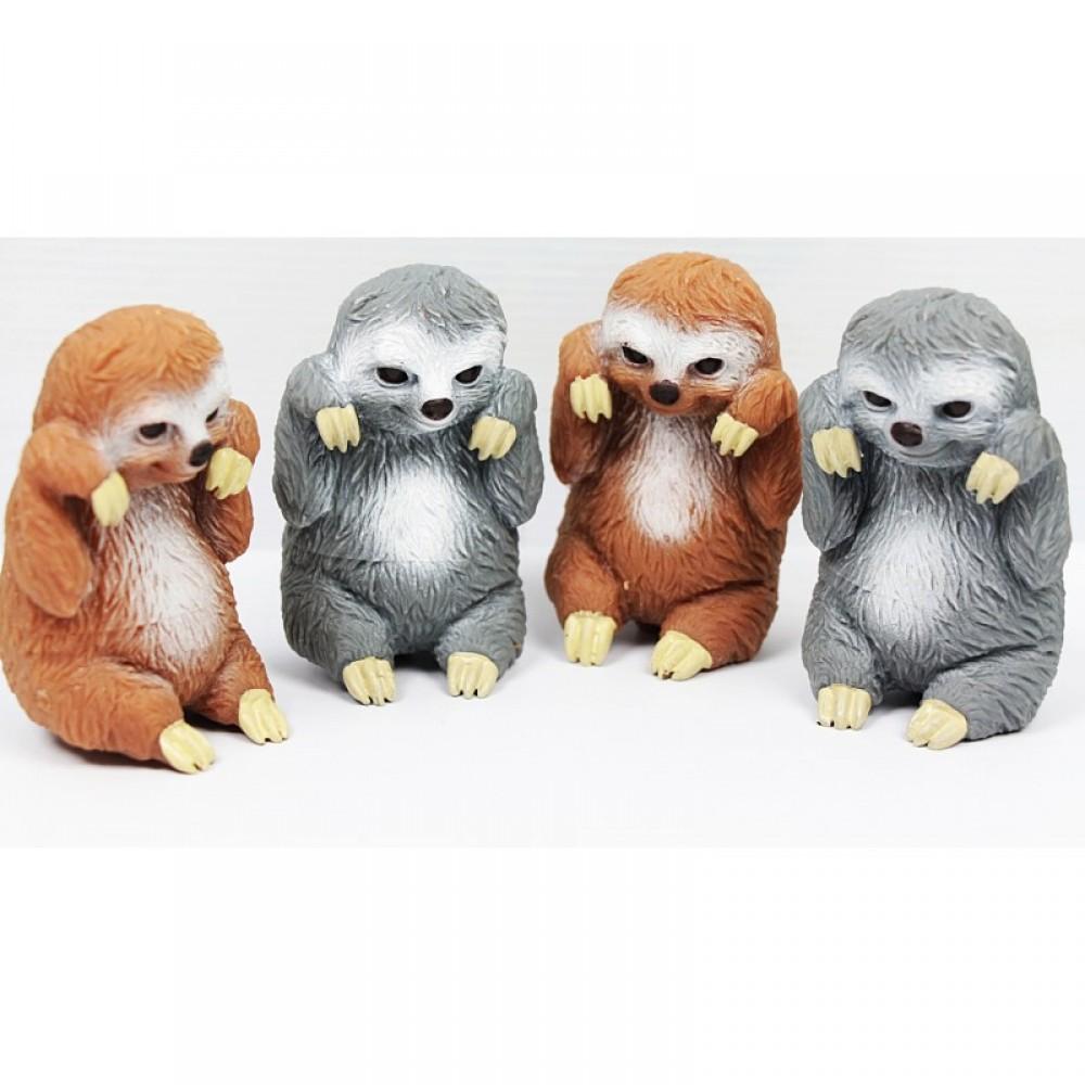 Животные ленивец 24 шт. в коробке тянучка