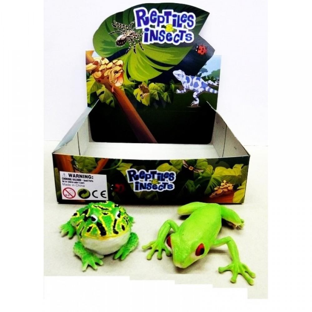 Животные лягушка тянучка 36 шт. в коробке
