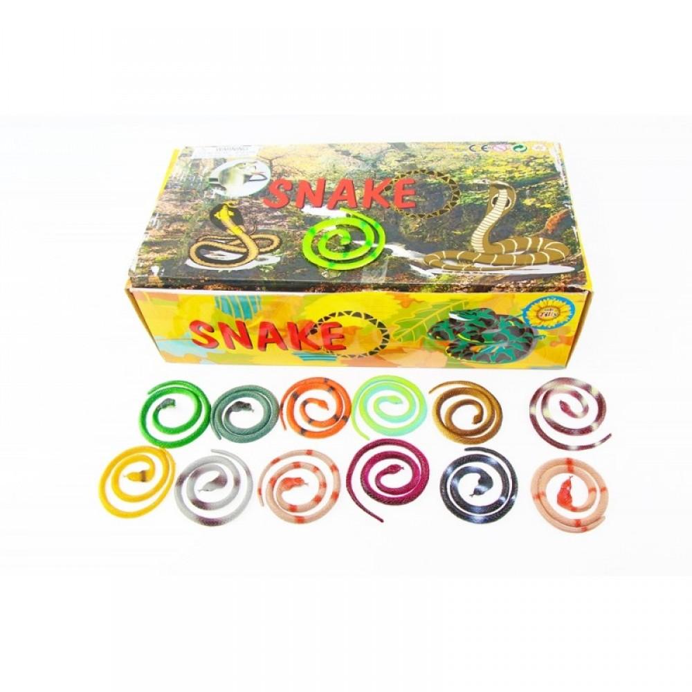 Животные змея резиновая