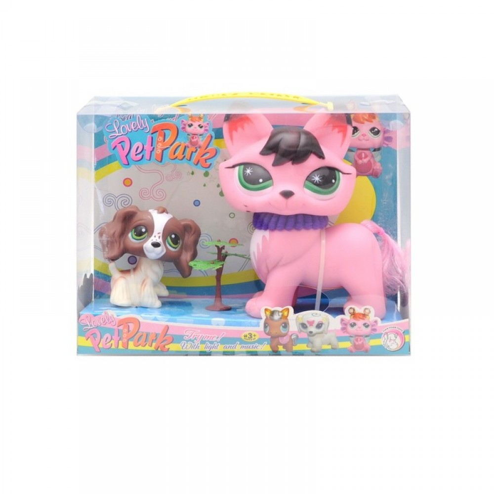 """Животные """"Pet Shop"""" в коробке"""