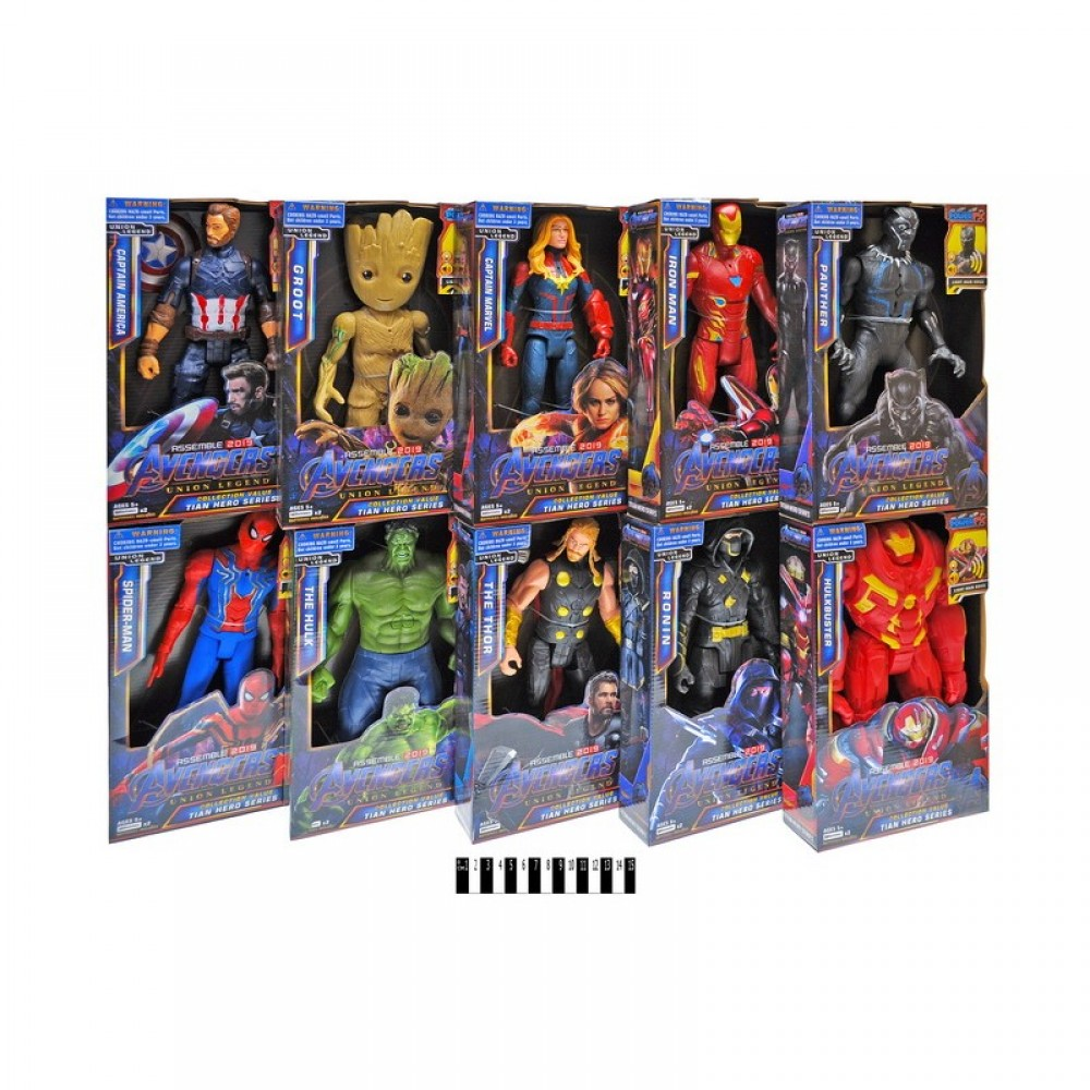 "Герои ""Avengers"" в коробке"