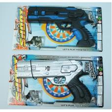 Пистолет трещётка на планшете