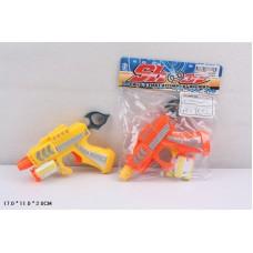 Пистолет с поролон. пулями в пакете