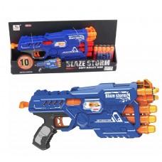 Пистолет с поролон. пулями в коробке