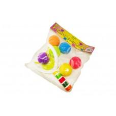 Рогатка с поролон. шариками в пакете