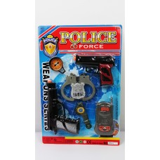 Полицейский набор на планшете