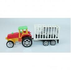 Трактор в пакете с прицепом