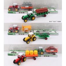 Трактор под слюдой