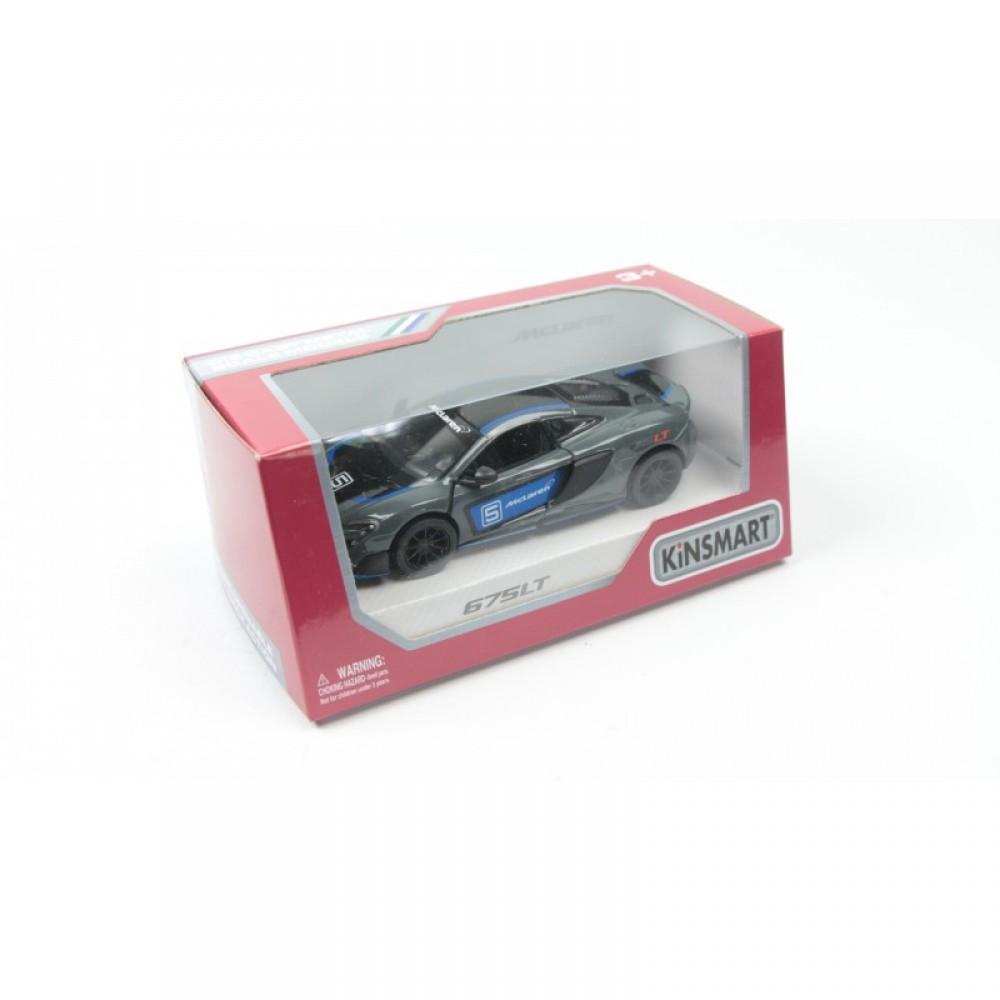 """KINSMART Мет. машина """"McLaren 675 LT"""""""