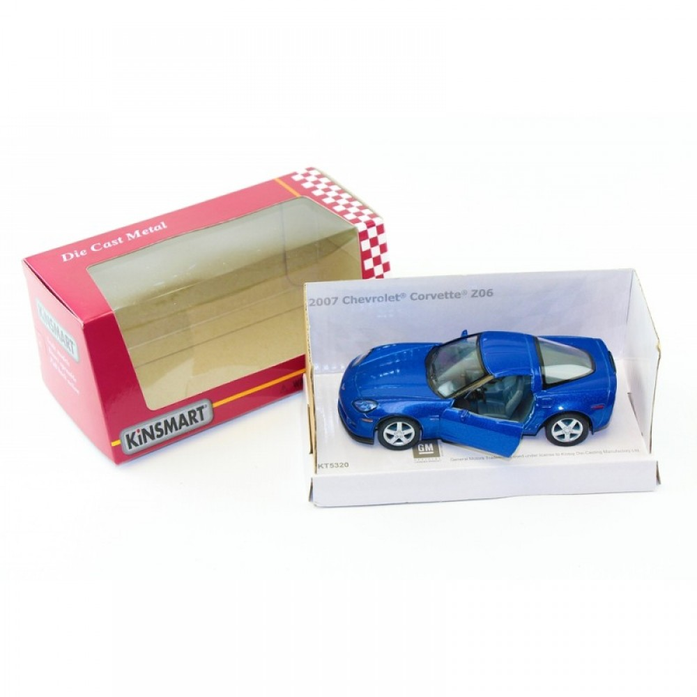 """KINSMART Мет. машина """"Chevrolet Corvette Z06"""""""