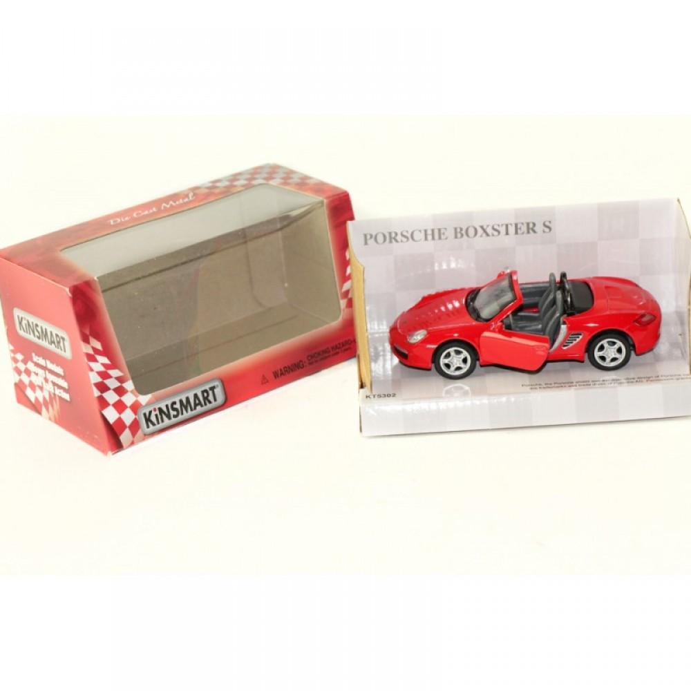 "KINSMART Мет. машина ""Porsche Boxster S"""