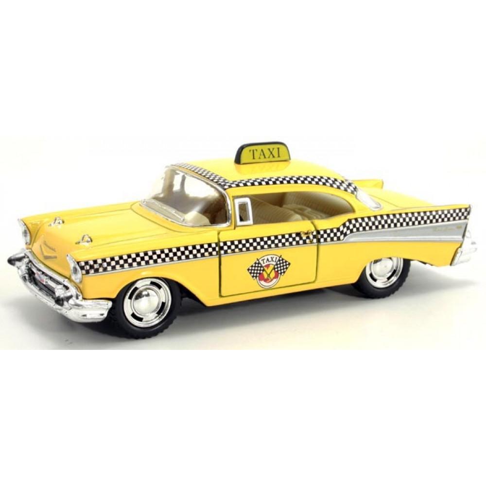 "KINSMART Мет. машина ""Chevrolet Bel Air TAXI 1957"""