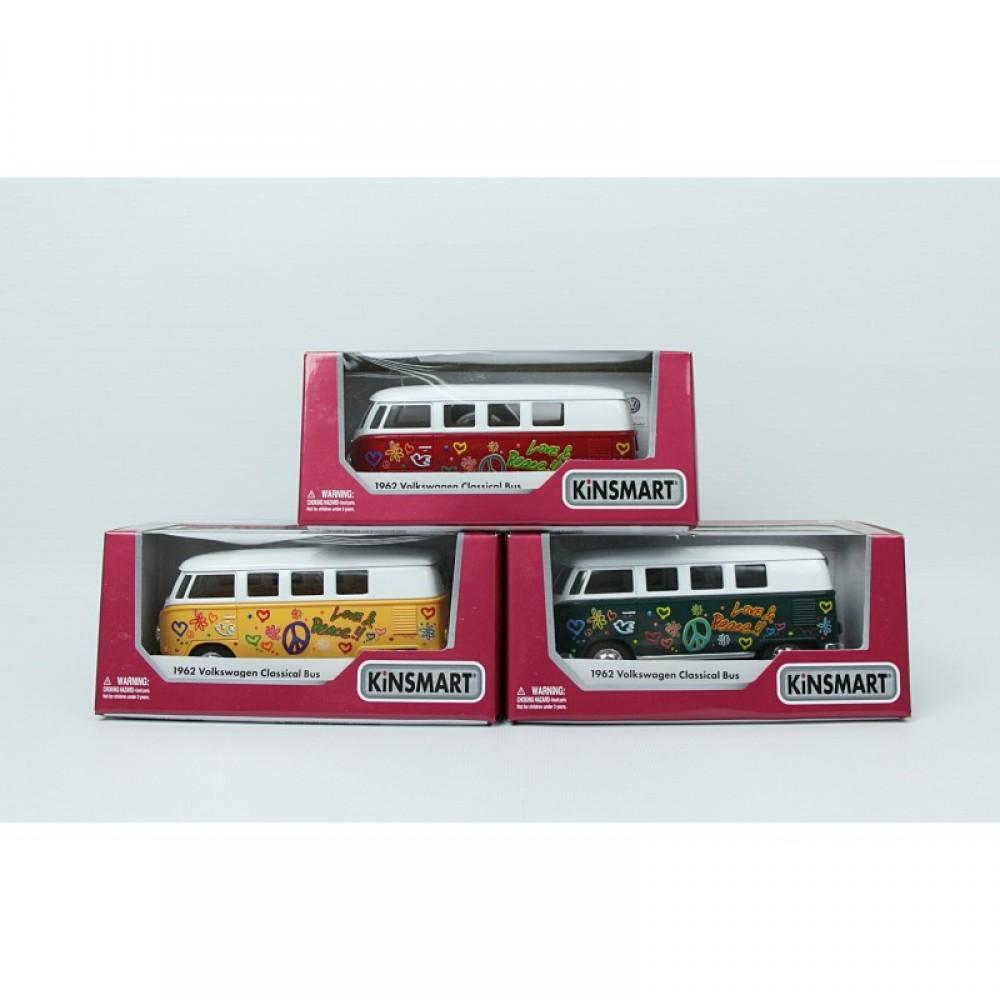 """KINSMART Мет. машина """"Volkswagen Bus """""""